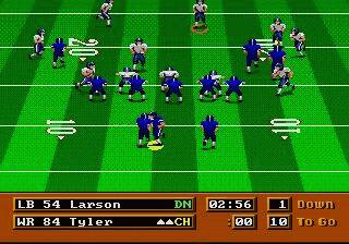 Pantallazo de Mike Ditka Power Football para Sega Megadrive
