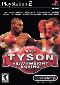 Caratula de Mike Tyson Heavyweight Boxing para PlayStation 2