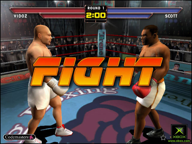 Pantallazo de Mike Tyson Heavyweight Boxing para Xbox