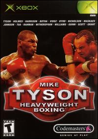 Caratula de Mike Tyson Heavyweight Boxing para Xbox