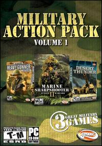 Caratula de Military Action Pack, Vol. 1 para PC