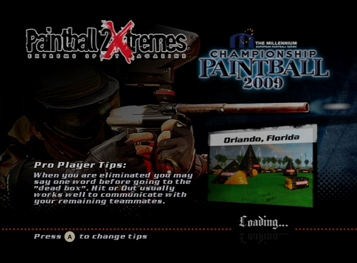 Pantallazo de Millenium Championship Paintball 2009, The para Wii
