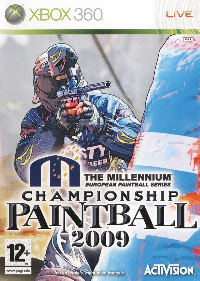 Caratula de Millenium Championship Paintball 2009, The para Xbox 360