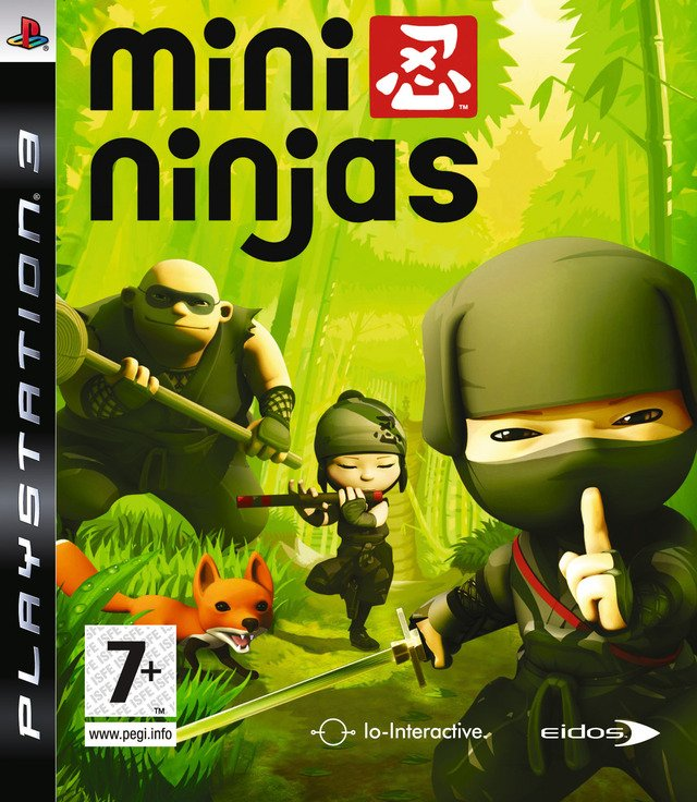 Caratula de Mini Ninjas para PlayStation 3
