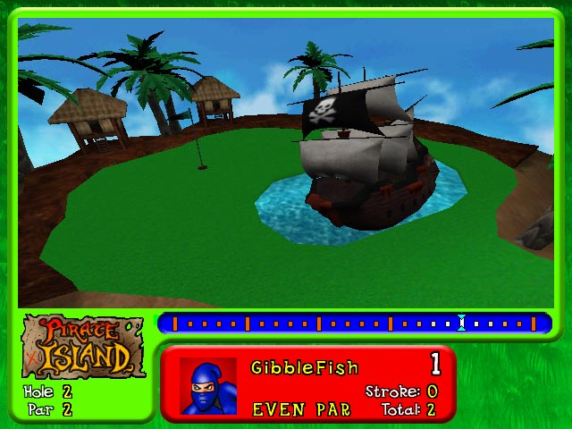Pantallazo de Mini-Golf Mega World para PC