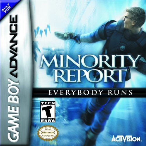Caratula de Minority Report para Game Boy Advance