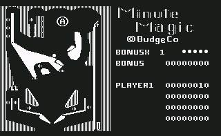 Pantallazo de Minute Magic para Commodore 64