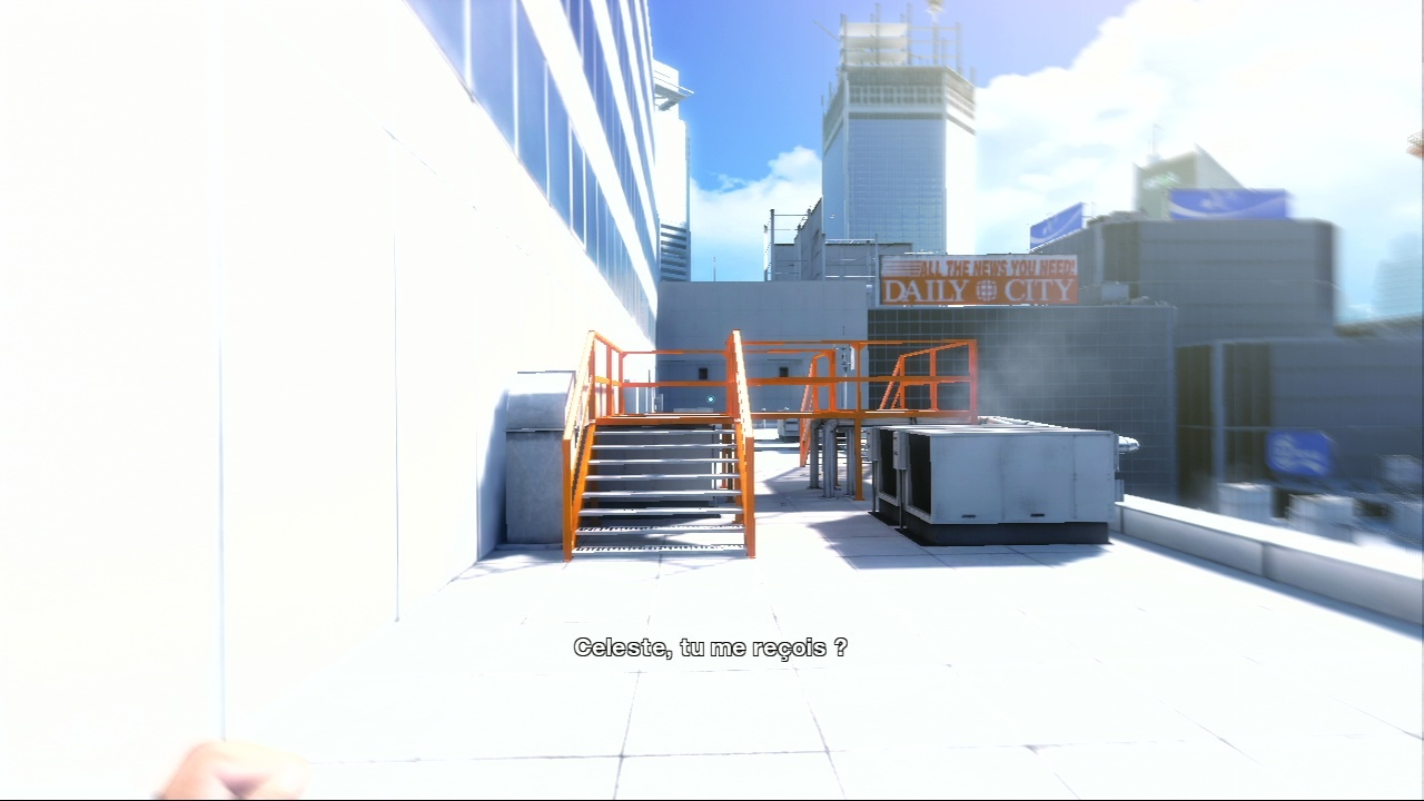 Pantallazo de Mirror's Edge para PlayStation 3