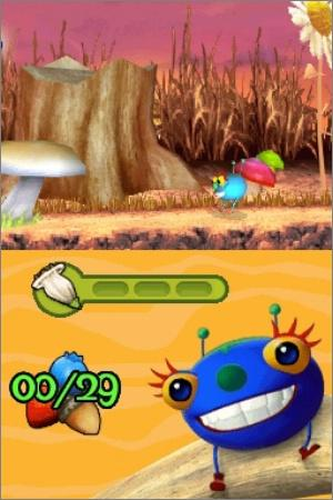 Pantallazo de Miss Spider: Harvest Time Hop and Fly para Nintendo DS