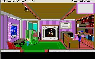 Pantallazo de Mixed Up Mother Goose para Atari ST