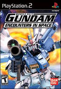 Caratula de Mobile Suit Gundam: Encounters in Space para PlayStation 2