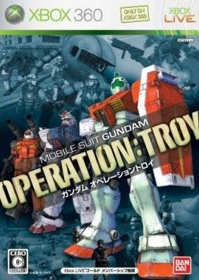 Caratula de Mobile Suit Gundam: Operation: Troy para Xbox 360