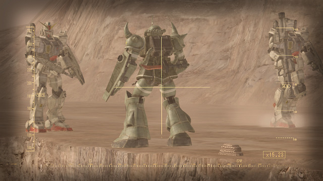 Pantallazo de Mobile Suit Gundam: Target In Sight para PlayStation 3