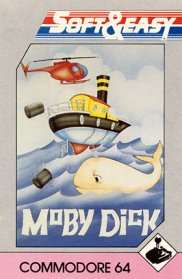 Caratula de Moby Dick para Commodore 64