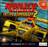 Caratula de Monaco Grand Prix: Racing Simulation 2 para Dreamcast