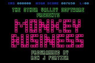 Pantallazo de Monkey Business para Atari ST