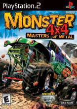 Caratula de Monster 4x4: Masters of Metal para PlayStation 2