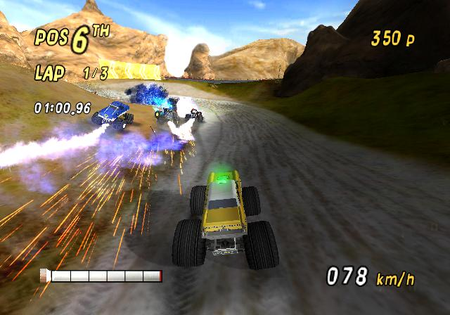 Pantallazo de Monster 4x4: World Circuit para Wii