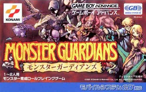 Caratula de Monster Guardians para Game Boy Advance