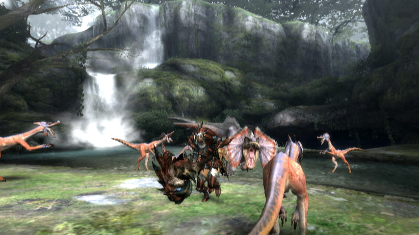 Pantallazo de Monster Hunter 3 para Wii