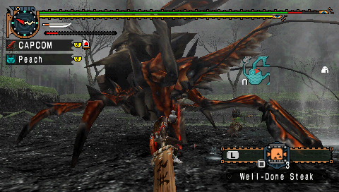 Pantallazo de Monster Hunter Freedom Unite para PSP