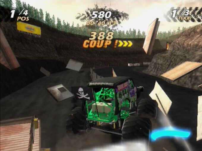 Pantallazo de Monster Jam: Urban Assault para PlayStation 2