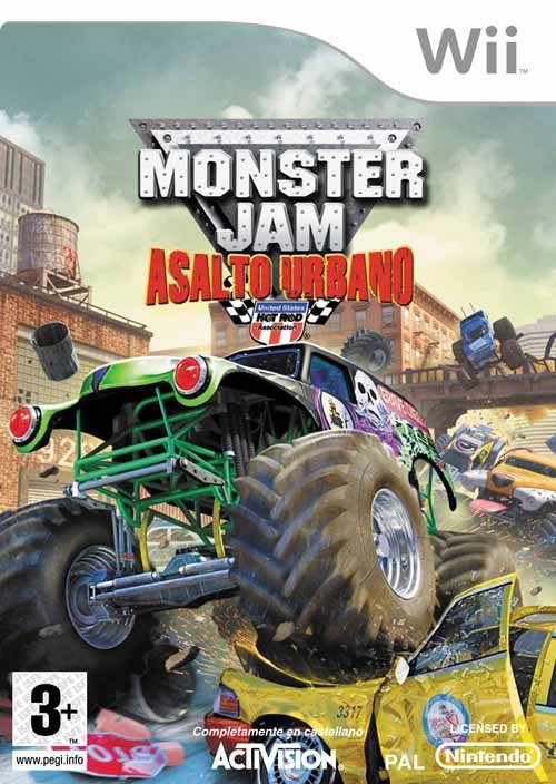 Caratula de Monster Jam: Urban Assault para Wii