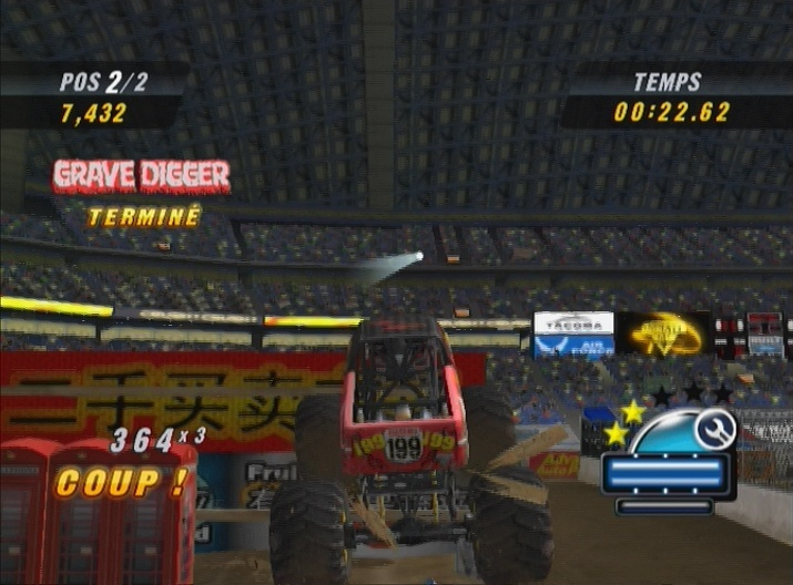 Pantallazo de Monster Jam: Urban Assault para Wii