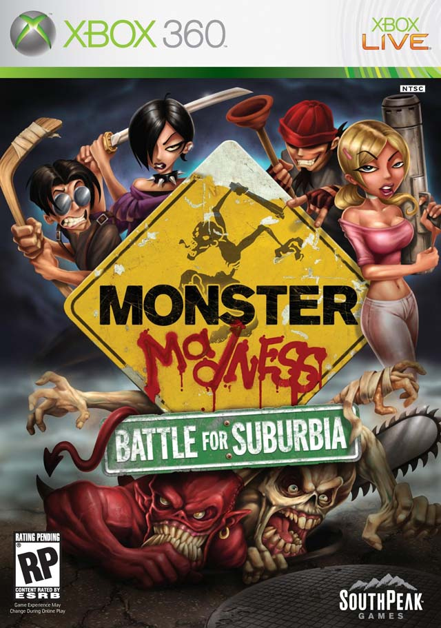 Caratula de Monster Madness para Xbox 360