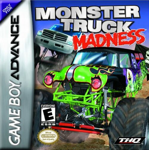 Caratula de Monster Truck Madness para Game Boy Advance