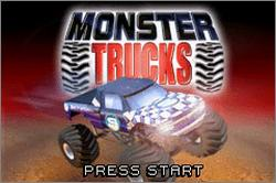 Pantallazo de Monster Trucks para Game Boy Advance