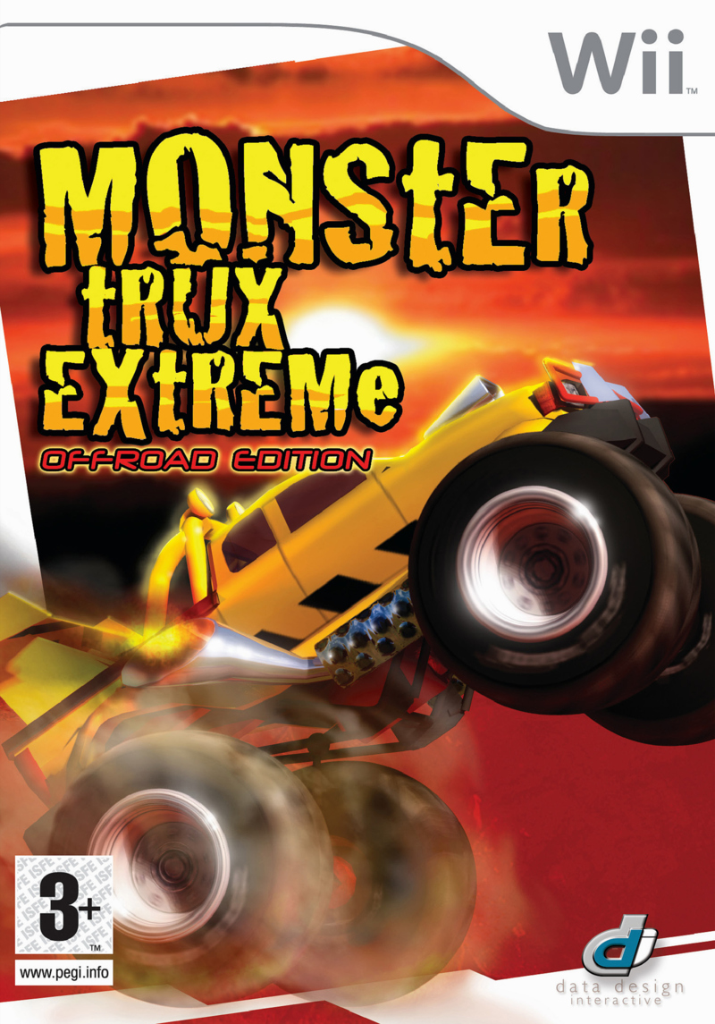 Caratula de Monster Trux Extreme: Offroad Edition para Wii