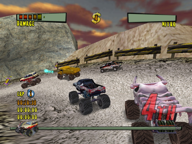 Pantallazo de Monster Trux Extreme: Offroad Edition para Wii