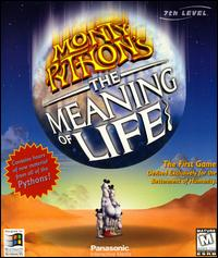 Caratula de Monty Python's The Meaning of Life para PC