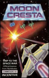 Caratula de Moon Cresta para Commodore 64
