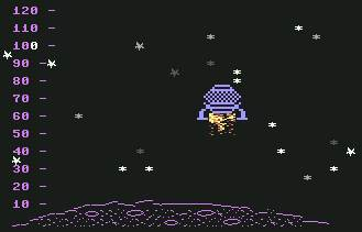 Pantallazo de Moon para Commodore 64
