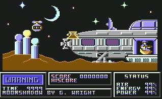 Pantallazo de Moonshadow para Commodore 64
