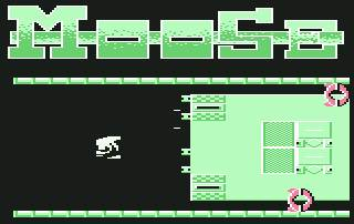 Pantallazo de Moose para Commodore 64
