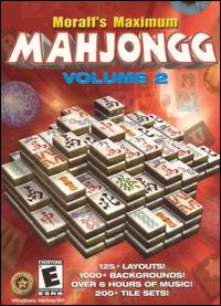 Caratula de Moraff's Maximum Mahjongg: Volume 2 para PC