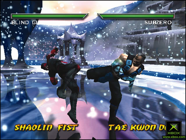 Pantallazo de Mortal Kombat: Deadly Alliance para Xbox
