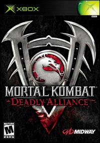 Caratula de Mortal Kombat: Deadly Alliance para Xbox