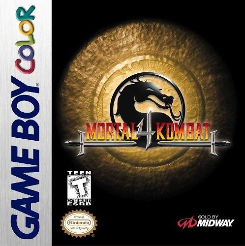 Caratula de Mortal Kombat 4 para Game Boy Color