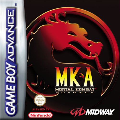 Caratula de Mortal Kombat Advance para Game Boy Advance