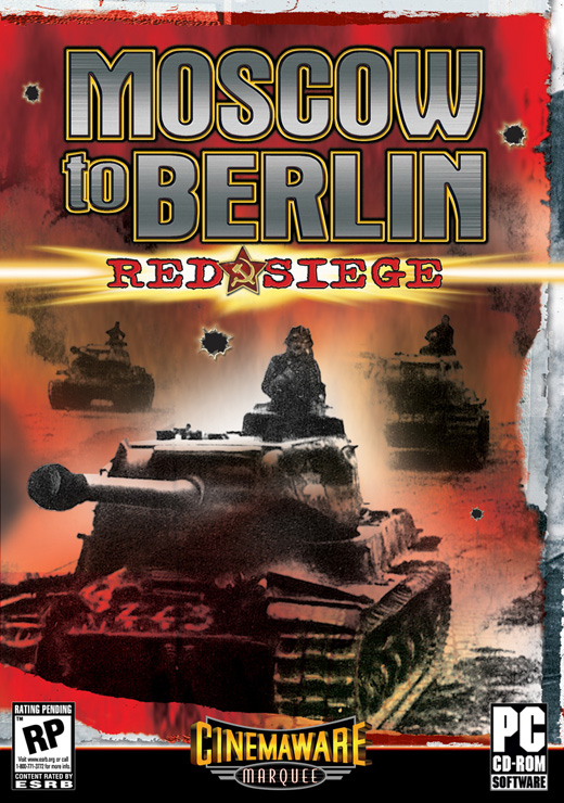 Caratula de Moscow to Berlin: Red Siege para PC