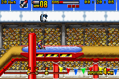 Pantallazo de Motocross Maniacs Advance (Japonés) para Game Boy Advance