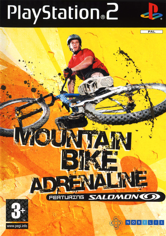 Caratula de Mountain Bike Adrenaline featuring Salomon para PlayStation 2