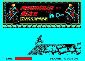 Pantallazo de Mountain Bike Simulator/Mountain Bike 500 para Amstrad CPC