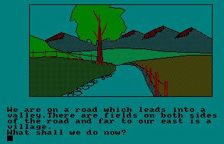 Pantallazo de Mountains Of Ket para Amstrad CPC