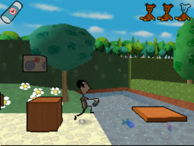 Pantallazo de Mr. Bean para Nintendo DS
