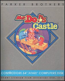 Caratula de Mr. Do´s Castle para Commodore 64